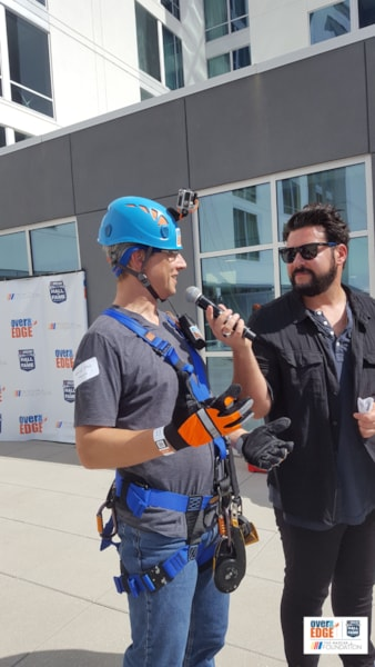 Phil Harris from K104.7 joined the NASCAR Hall of Fame Foundation and The NASCAR Foundation in Over The Edge Charlotte-a signature fundraising event dedicated toward advancing that work - whether you are a thrill seeker, community advocate or everyday hero! Phil braved great heights and rappeled 10 stories down the Embassy Suites Charlotte Uptown. Thank…