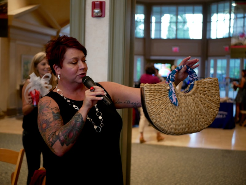 "The Carolina Women's Sip & Shop Event took take place at Daniel Stowe Botanical Garden on Thursday, October 4th and featured a unique ""Handbag Happy Hour,"" and will showcase upscale purses including Michael Kors, Tory Burch, Kate Spade, Marc Jacobs, and others. Thank you to all our sponsors and listeners who came and joined us…"