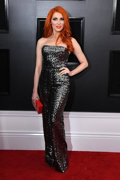 LOS ANGELES, CALIFORNIA - FEBRUARY 10: Bonnie McKee attends the 61st Annual GRAMMY Awards at Staples Center on February 10, 2019 in Los Angeles, California. (Photo by Jon Kopaloff/Getty Images)