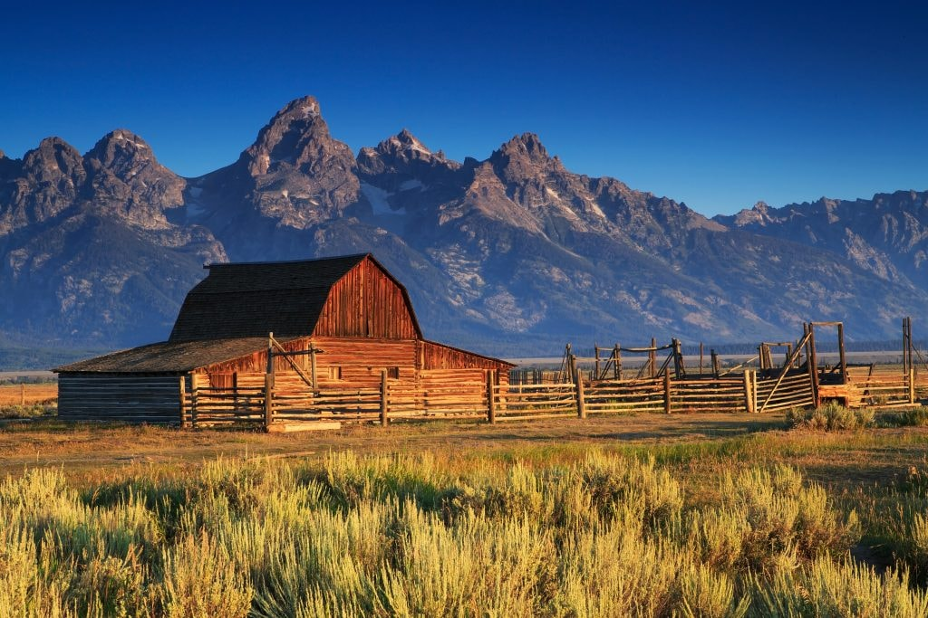 Moulton Barn, Grand Tetons, Wyoming
