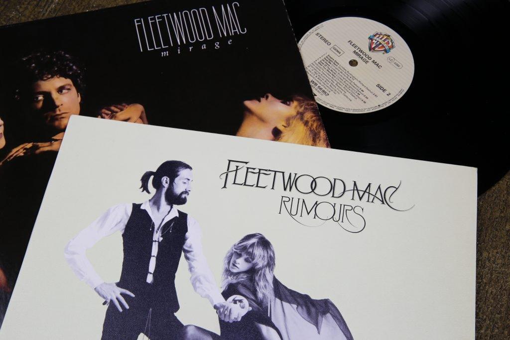 Fleetwood Mac album covers